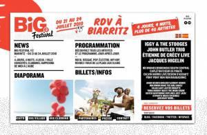 Iggy Pop, Coeur de pirate, PPRR, Uffie, Calvin Harris : le Big Festival sera énorme... et gratuit pour vous !