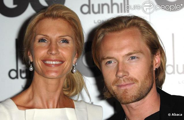 Ronan Keating et son épouse Yvonne