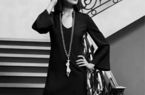 Daria Werbowy : Le magnifique top model joue les beautés raffinées pour YSL... D'un chic absolu !