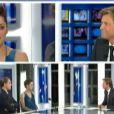 Capture d'écran du JT de France 2 avec Marion Cotillard et Leonardo DiCaprio