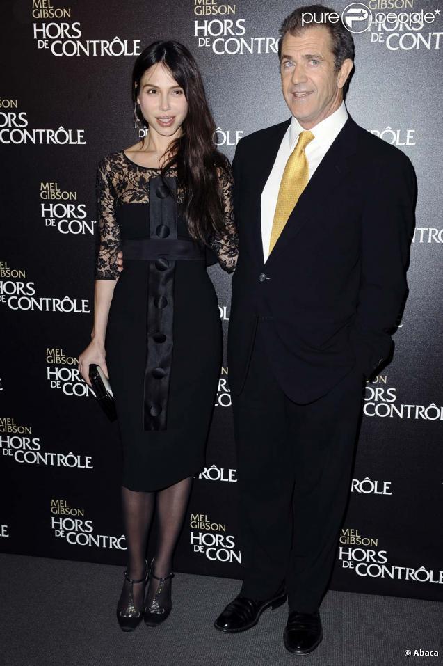 Mel Gibson couple