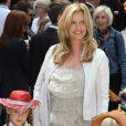 Penny Lancaster et ses enfants à l'occasion de l'avant-première de  Toy Story 3 , à l'Empire Leicester Square de Londres, le 18 juillet 2010.