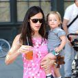 Jennifer Garner et sa fille Seraphina (17 juillet 2010 à NYC)