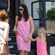 Jennifer Garner et sa fille Violet (17 juillet 2010 à NYC)