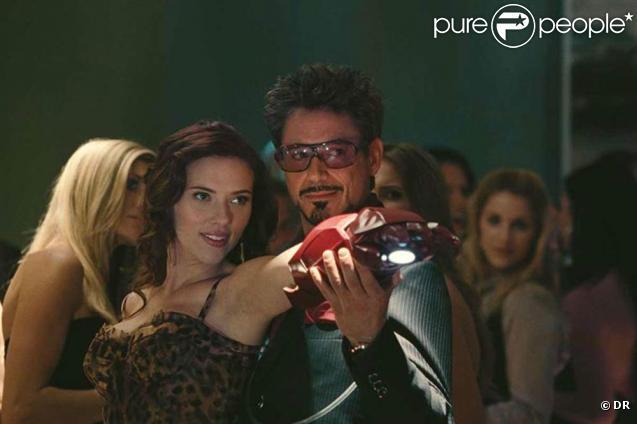 Des images d' Iron Man 2 , l'un des gros succès de l'année ciné 2010.