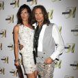 Steven Tyler et Erin Brady au Studio 54 du MGM, Las Vegas, le 31 juillet 2010.
