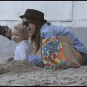 Ashlee Simpson : Avec les hommes de sa vie... c'est l'amour à la plage !