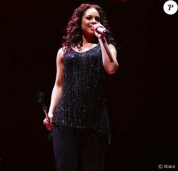Alicia Keys en concert à Bercy, le 27 mars 2008