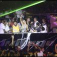 Paris Hilton fait la fête à Ibiza le 1er août 2010