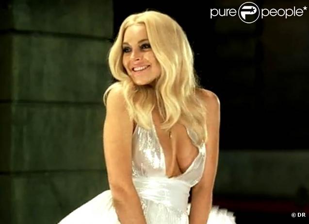 Des images de  Underground Comedy 2010 , avec Lindsay Lohan en Marilyn Monroe plus vraie que nature !