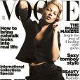 Kate Moss en couverture du Vogue UK de septembre 2006