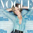 Kate Moss en couverture du Vogue UK de septembre 2005