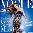 Kate Moss en couverture du Vogue UK de septembre 2004