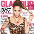 Jennifer Lopez en couverture de Glamour du mois de septembre 2010