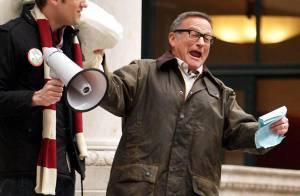 PHOTOS : Robin Williams sur le tournage de 'Law and Order'