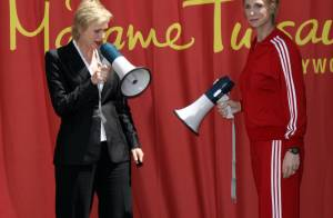 Glee : Jane Lynch, alias la tyrannique Sue Sylvester... voit double !