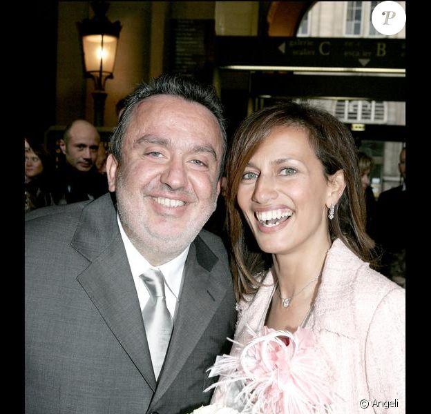 Dominique Farrugia et son épouse Isabelle