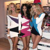 Victoria's Secret : Les anges Chanel Iman et Candice Swanepoel ont envoûté la Grosse Pomme...