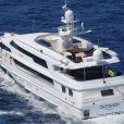 C'est à bord de ce yacht nommé Altavida que Pamela Anderson a dit oui à Kid Rock en 2006 au large de Saint-Tropez ! Si le yacht est toujours à flot le mariage de Pamela, lui,... a sombré !
