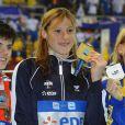 """Le 13 août 2010, Alain Bernard a conservé son titre européen sur 100m, à Budapest, devançant de 3 centièmes (en 48""""49) le Russe Lagunov ! Le même jour, Aurore Mongel n'a pu faire mieux que 6e sur 100m papillon."""