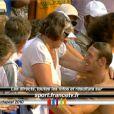 """Le 13 août 2010, Alain Bernard a conservé son titre européen sur 100m, à Budapest, devançant de 3 centièmes (en 48""""49) le Russe Lagunov ! William Meynard, quant à lui, touche le bronze !"""