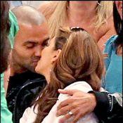 Quand Eva Longoria et Tony Parker débordent d'amour dans les gradins... Thierry Henry n'est jamais loin ! (Réactualisé)