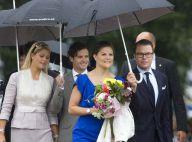 Victoria de Suède et son mari, Madeleine complice avec son frère Carl Philip : ambiance royale en Suède !