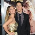 Drew Barrymore et Justin Long à l'avant-première du film Going the Distance au Grauman's Chinese Theatre à Hollywood le 23 août 2010