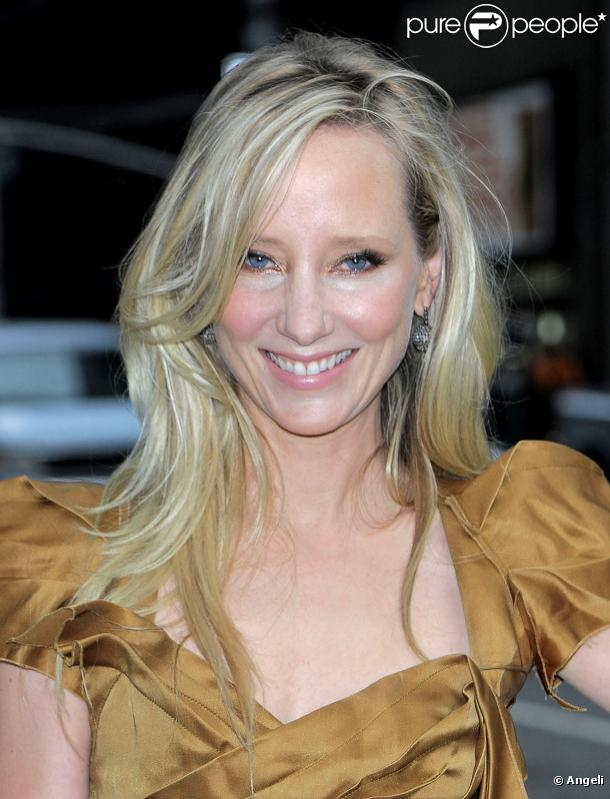 Anne Heche à New York, le 23 août 2010