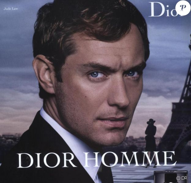 Jude Law pour Dior Homme
