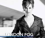 Christina Hendricks pour London Fog