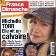 Michèle Torr en couverture de France Dimanche