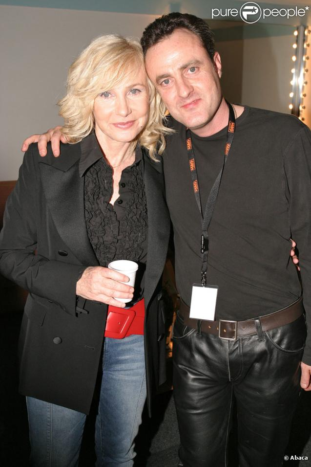 Michèle Torr et son fils Romain en 2005