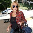 Lindsay Lohan se rend au tribunal... dans une tenue pas forcément appropriée, ce vendredi 27 août.