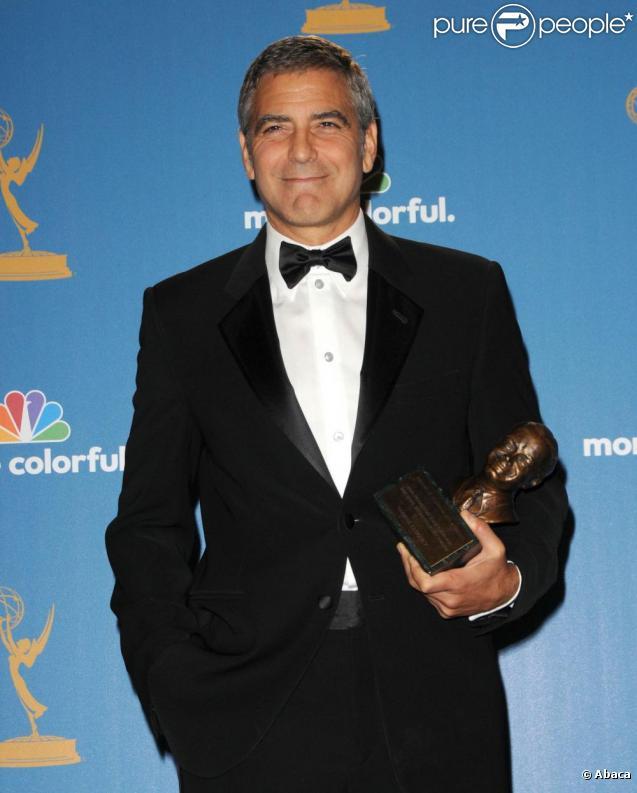 George Clooney à la 62e cérémonie des Emmy Awards, le 29 août 2010.