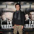 Joffrey Verbruggen à la première de Krach, à l'UGC Cine Bercy, à Paris