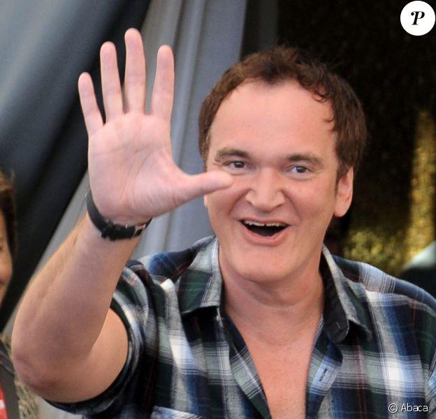 Quentin Tarantino lors du photocall des membres du jury du festival de Venise le 1er septembre 2010