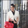 """Billie Piper sur le tournage de """"Journal intime d'une call-girl"""""""