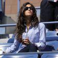 Dans les gradins de l'USTA Billie Jean King Tennis Center, à New York, Xisca soutient, fidèle au poste, son chéri le numéro un mondial Rafael Nadal lors de l'US Open 2010. Elle a apprécié sa victoire sur le Français Gilles Simon en 8e.