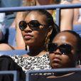 Dans les gradins de l'USTA Billie Jean King Tennis Center, à New York, Serena Williams a apprécié la victoire de sa soeur Venus sur l'Israélienne Shahar Peer dans l'US Open.