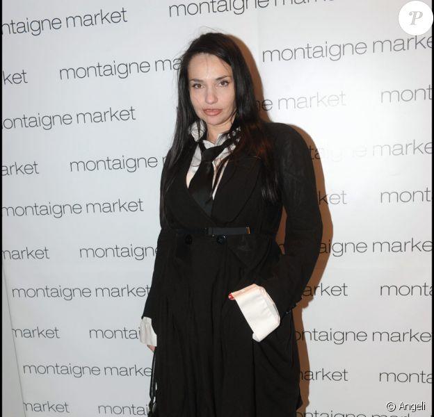Béatrice Dalle lors du Vogue Fashion Night Out à Paris le 7 septembre 2010
