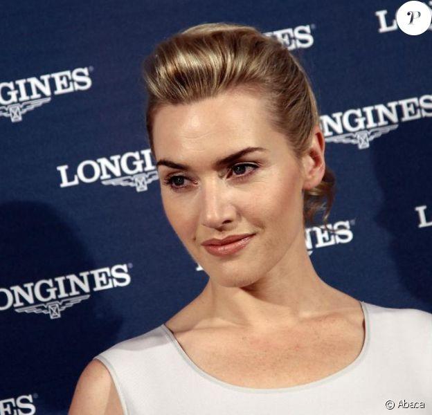 Kate Winslet au lancement de la montre Dolce Vita, de la marque Longines. 8/09/2010