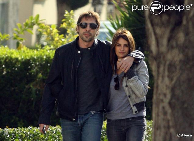 Javier Bardem et Penélope Cruz en décembre 2009