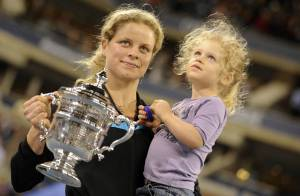 Kim Clijsters : Un triomphe éclatant à l'US Open, sublimé par l'émerveillement de sa petite Jada, 2 ans !