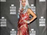 Lady Gaga : Pour sa fameuse robe, il aura fallu pas moins de 23 kilos de viande de boeuf... véritable !