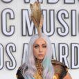 Lady Gaga lors de la soirée des Video Music Awards au Nokia Theatre à Los Angeles le 12 septembre 2010