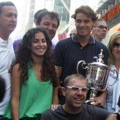 Rafael Nadal : Sa jolie Xisca l'accompagne pour savourer son triomphe new-yorkais !