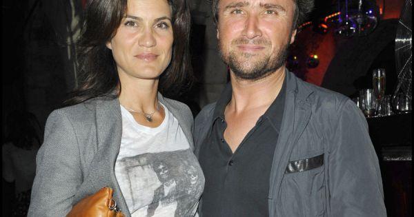 Alexandre brasseur et sa femme juliette en juin 2010 - Alexandre jardin et sa femme ...