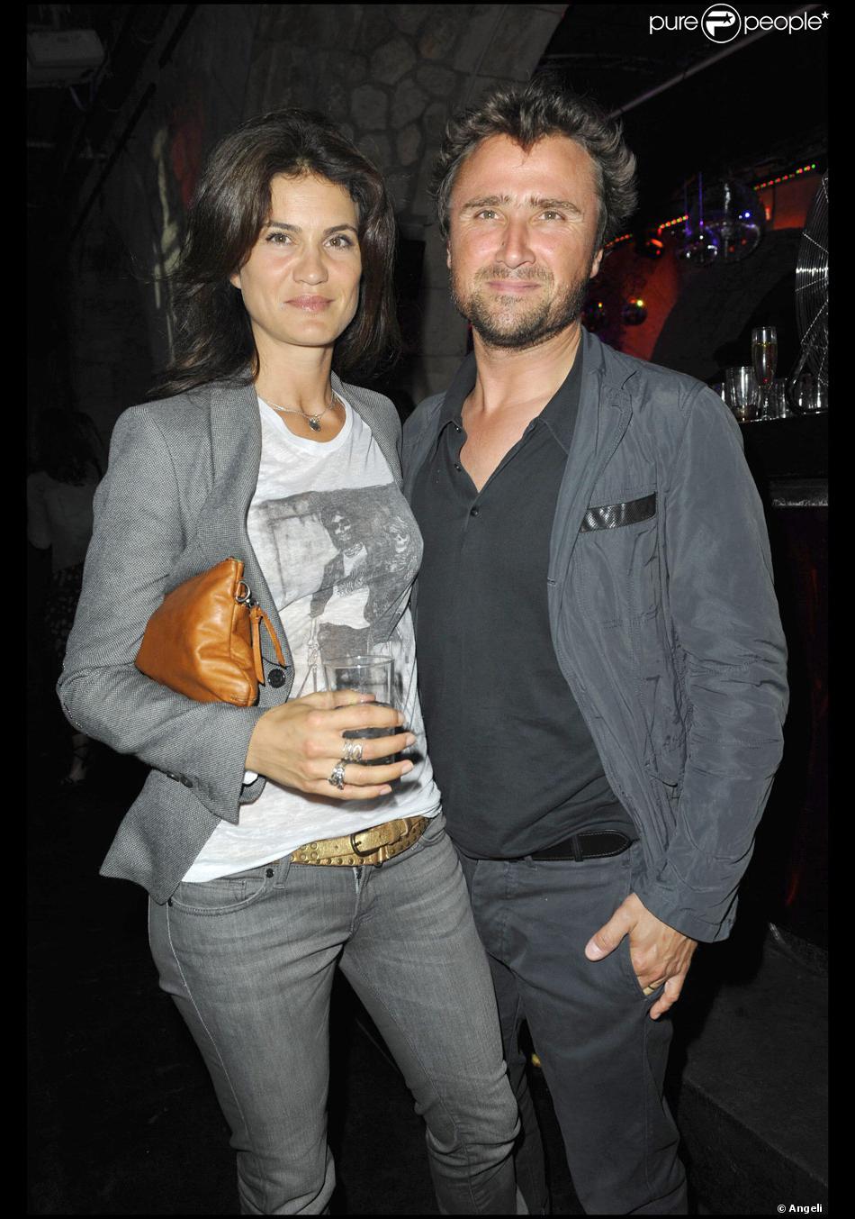 Alexandre brasseur et sa femme juliette en juin 2010 purepeople - Alexandre jardin et sa femme ...