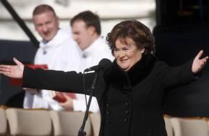 Susan Boyle : Comment le pape s'est sauvé... pendant qu'elle chantait pour lui !